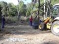 9 juin 2015 - Préparation du site de forage